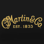 CF Martin Logo Self Adhesive Decal