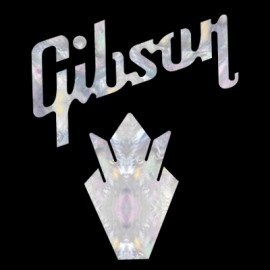 Gibson Crown Pack Faux Mother of Pearl Water Slide Decal