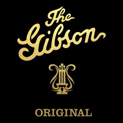 Gibson Original Self Adhesive Decal Guitar Headstock